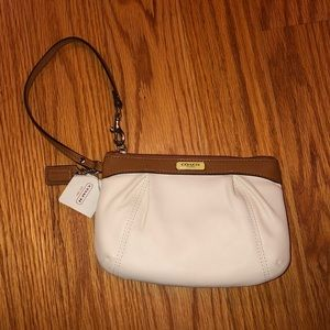 New (with tags) coach wristlet